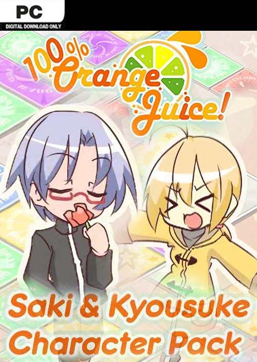 100% Orange Juice  Saki & Kyousuke Character Pack PC key
