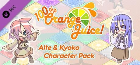 100% Orange Juice  Alte & Kyoko Character Pack