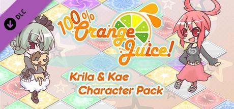 100% Orange Juice  Krila & Kae Character Pack