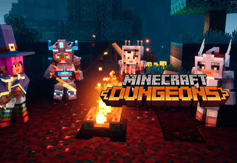Minecraft Dungeons Xbox One cheap key to download