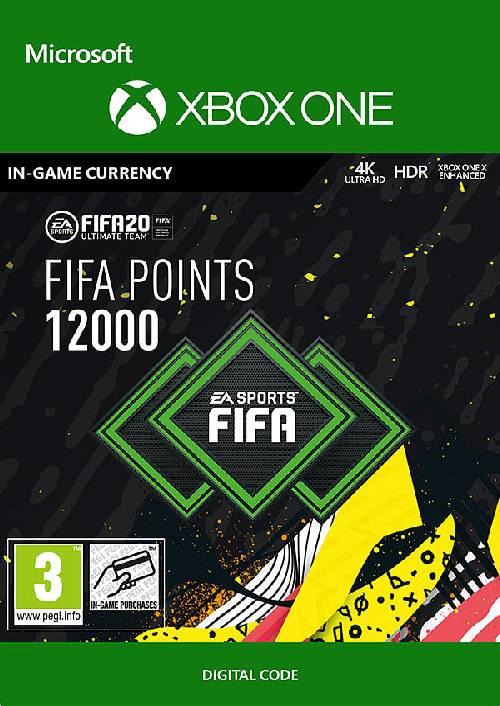 FIFA 20 - 12000 FUT Points Xbox One (WW) key