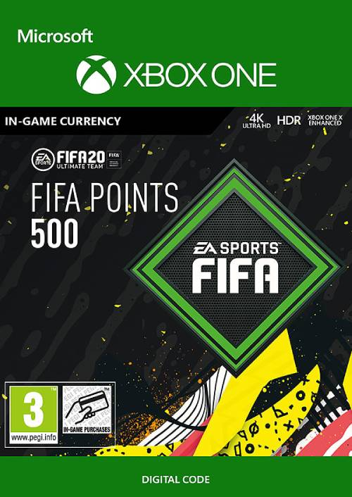 FIFA 20 - 500 FUT Points Xbox One (WW) key