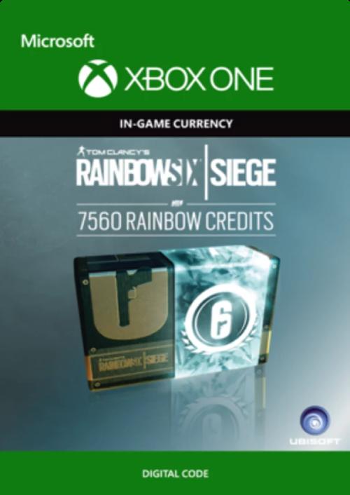 Tom Clancy's Rainbow Six Siege 7560 Credits Pack Xbox One key