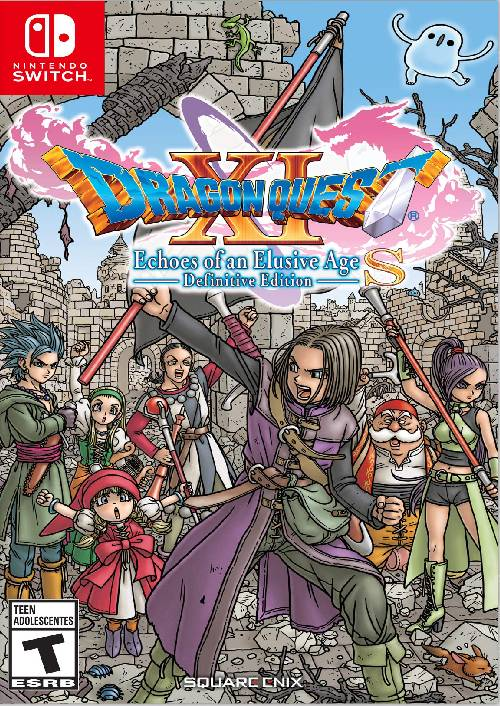 Dragon Quest XI 11 S Echoes of an Elusive Age Definitive Edition Nintendo Switch