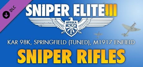 Sniper Elite 3  Sniper Rifles Pack PC key
