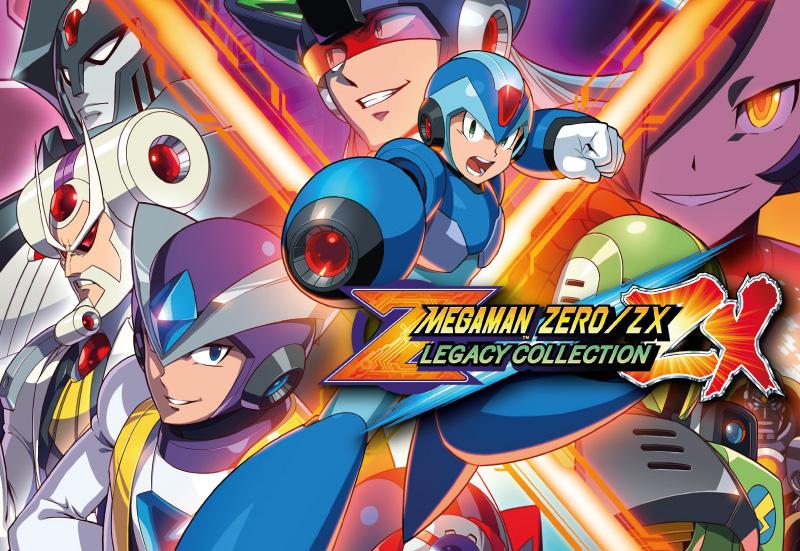 Mega Man Zero/ZX Legacy Collection PC + DLC cheap key to download