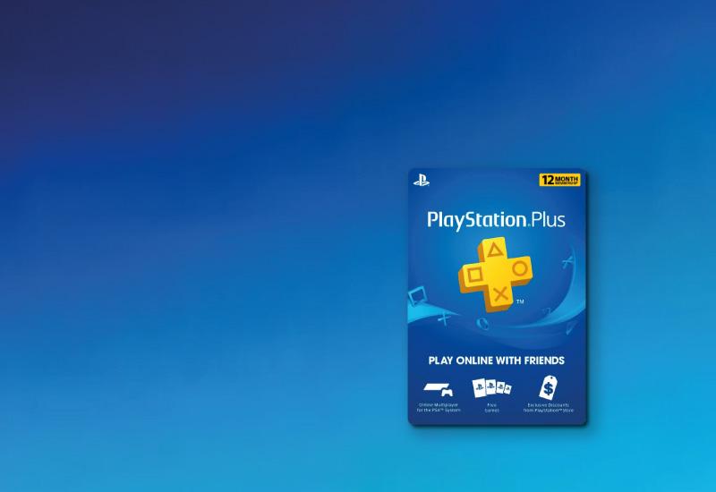1-Year PlayStation Plus Membership (PS+) - PS3/PS4/PS Vita Digital Code (USA) clé pas cher à télécharger