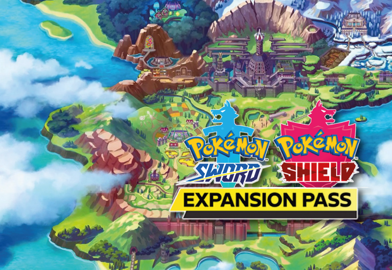 Pokemon Sword and Shield Expansion Pass Switch (EU) cheap key to download