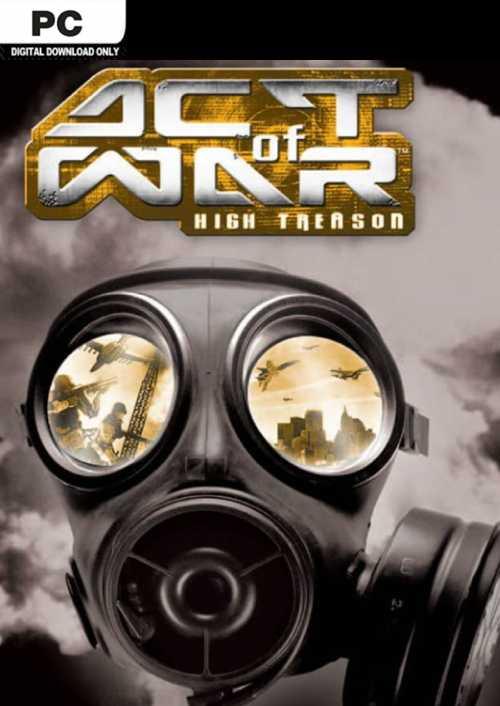 Act of War High Treason PC key