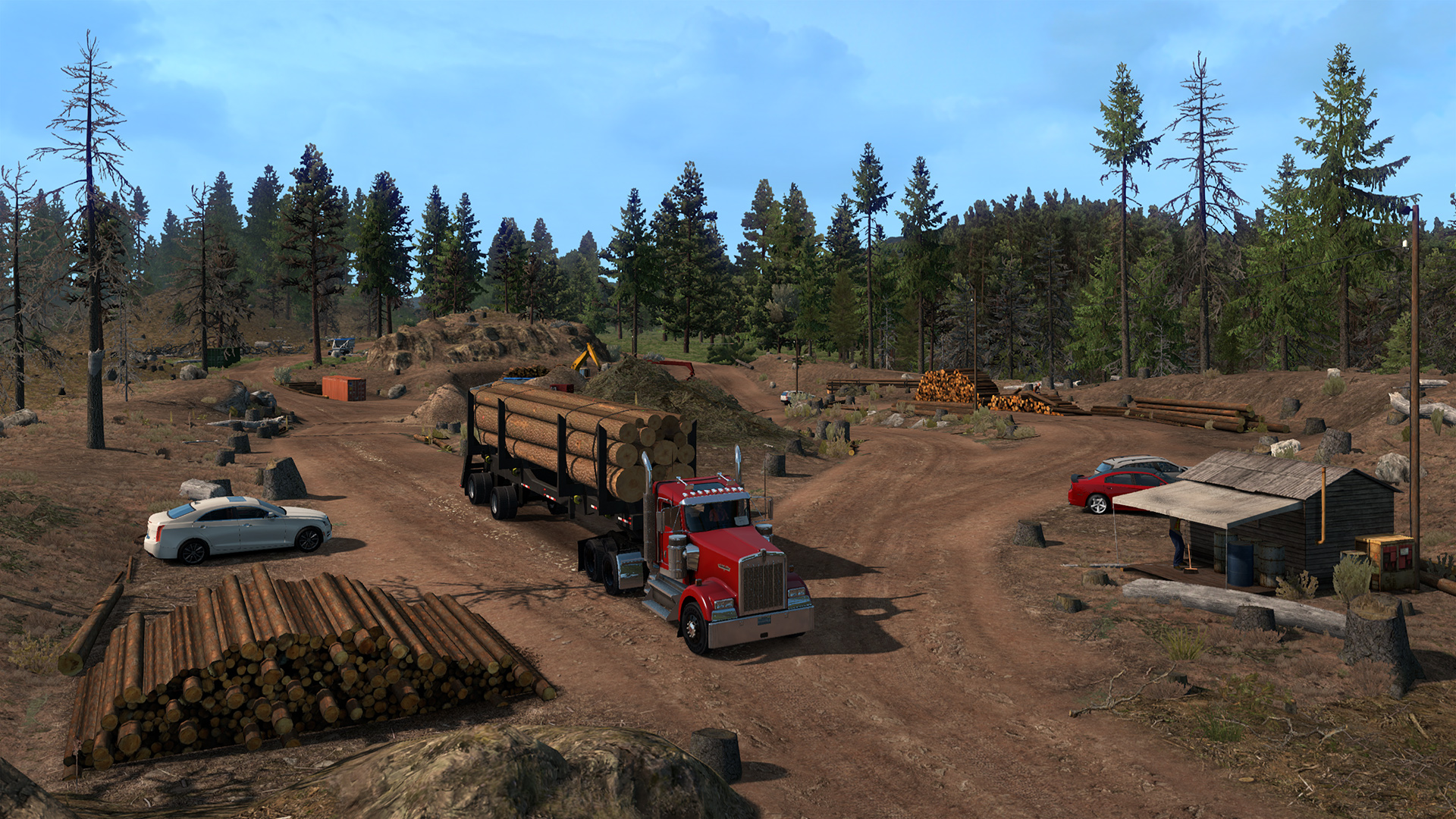 American Truck Simulator - Oregon DLC PC