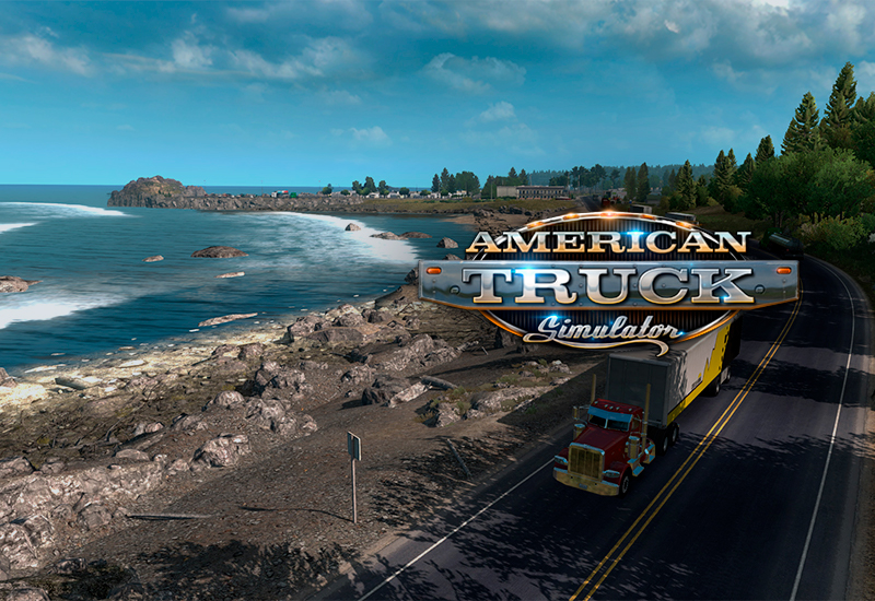 American Truck Simulator PC cheap key to download