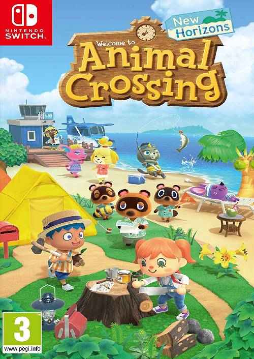 Animal Crossing: New Horizons Switch (EU) key