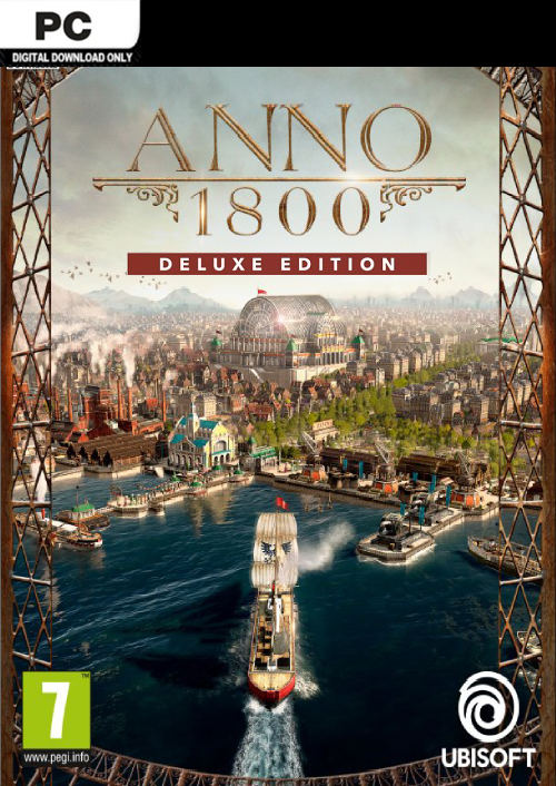 Anno 1800 Deluxe Edition PC cheap key to download