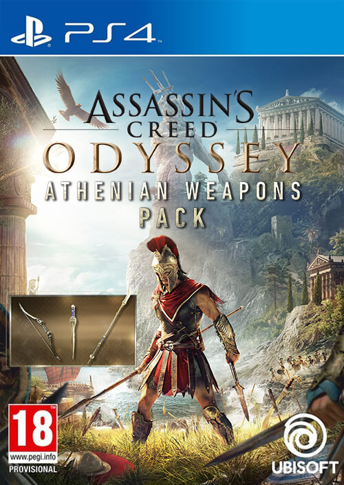 Assassin's Creed Odyssey Athenian Weapons Pack PS4