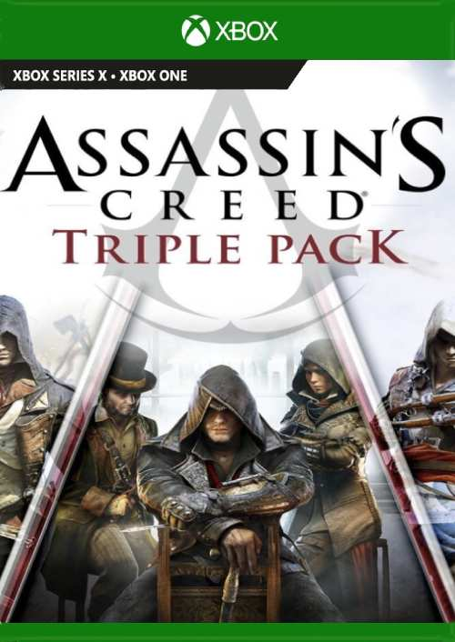 Assassin's Creed Triple Pack Black Flag Unity Syndicate Xbox One