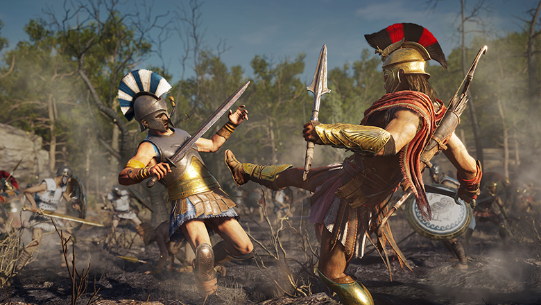 Assassins Creed Odyssey Deluxe PC billig Schlüssel zum Download