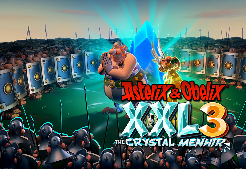 Asterix and Obelix XXL 3 - The Crystal Menhir PC cheap key to download