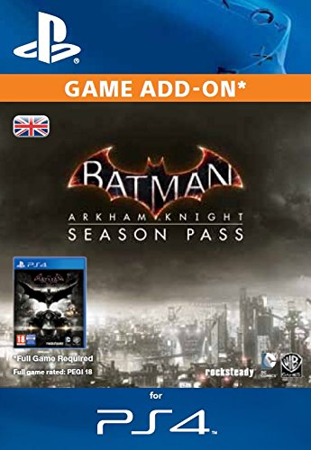Batman Arkham Knight Season Pass PS4