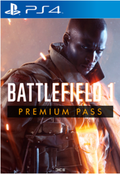 BF1 Battlefield 1 Premium Pass PS4