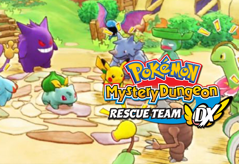 Pokémon Mystery Dungeon: Rescue Team DX Switch (EU) cheap key to download