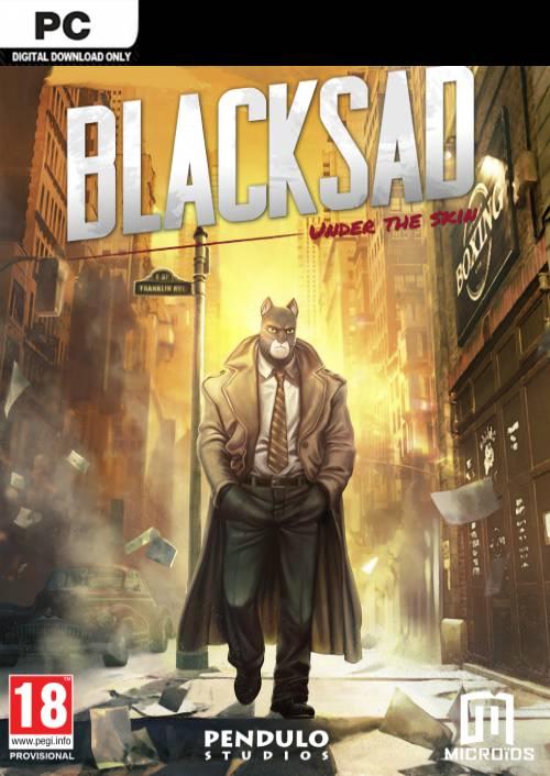 Blacksad: Under the Skin PC key