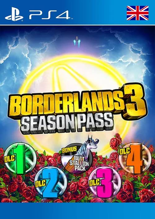 Borderlands 3: Season Pass PS4 (UK) key