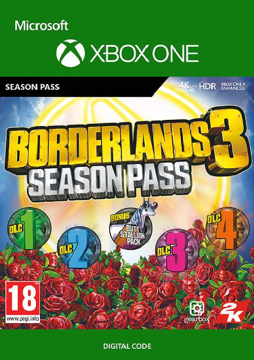 Borderlands 3 Season Pass Xbox One
