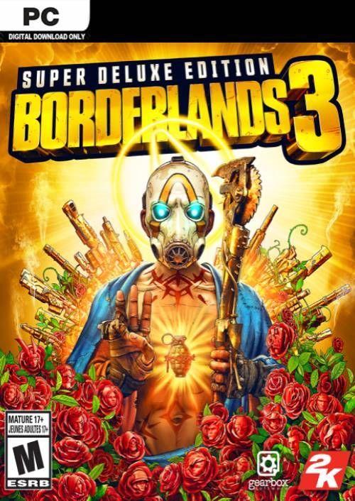 Borderlands 3 Super Deluxe Edition PC  (US/AUS/JP) key