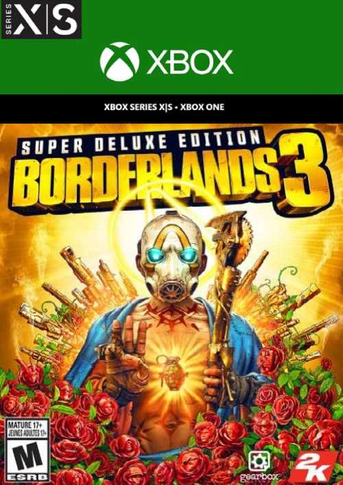 Borderlands 3: Super Deluxe Edition Xbox One/Xbox Series X S key