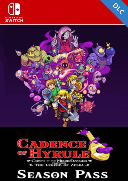 Cadence of Hyrule Featuring The Legend of Zelda Season Pass Nintendo Switch