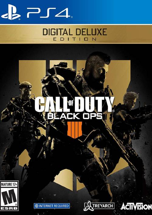 Call of Duty Black Ops 4 Deluxe Edition PS4