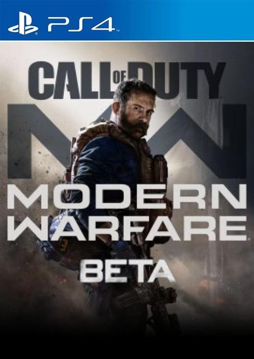 Call of Duty Modern Warfare Beta PS4 key
