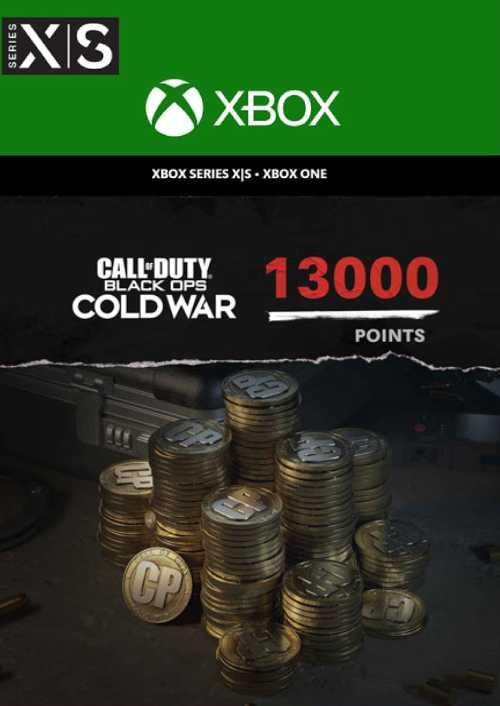 Call of Duty Black Ops 5 Cold War 13000 Points Xbox Series X