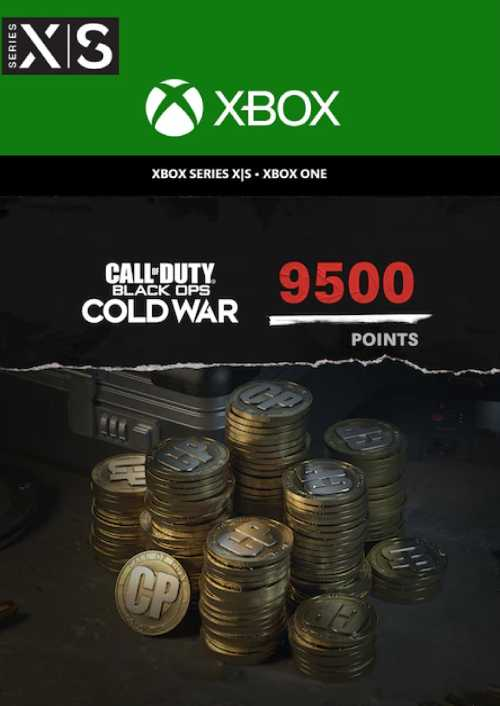 Call of Duty Black Ops 5 Cold War 9500 Points Xbox Series X