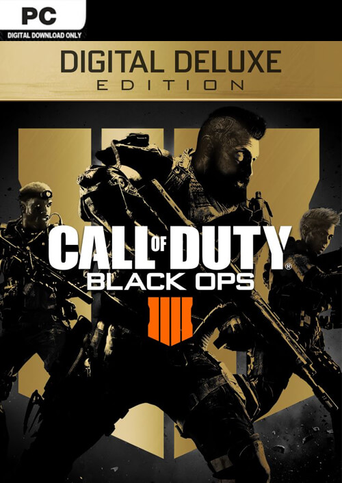 Call of Duty Black Ops 4 Deluxe Edition