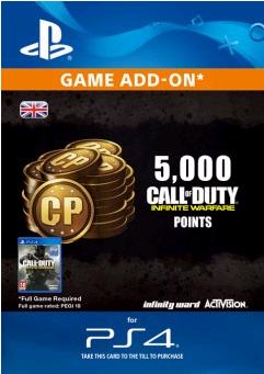 Call of Duty (COD) Infinite Warfare - 5000 Points PS4