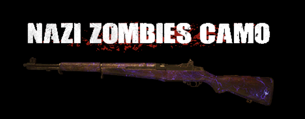 Call of Duty (COD) WWII PC: Nazi Zombies Camo DLC cheap key to download