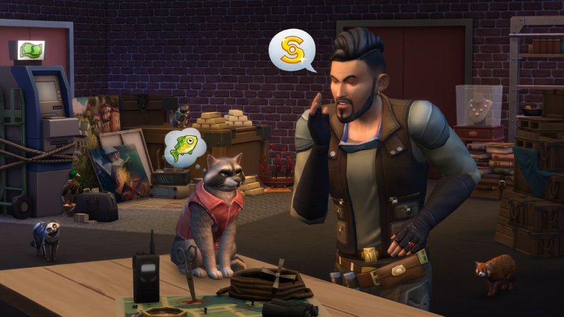 The Sims 4 - Cats and Dogs Bundle Xbox One cheap key to download