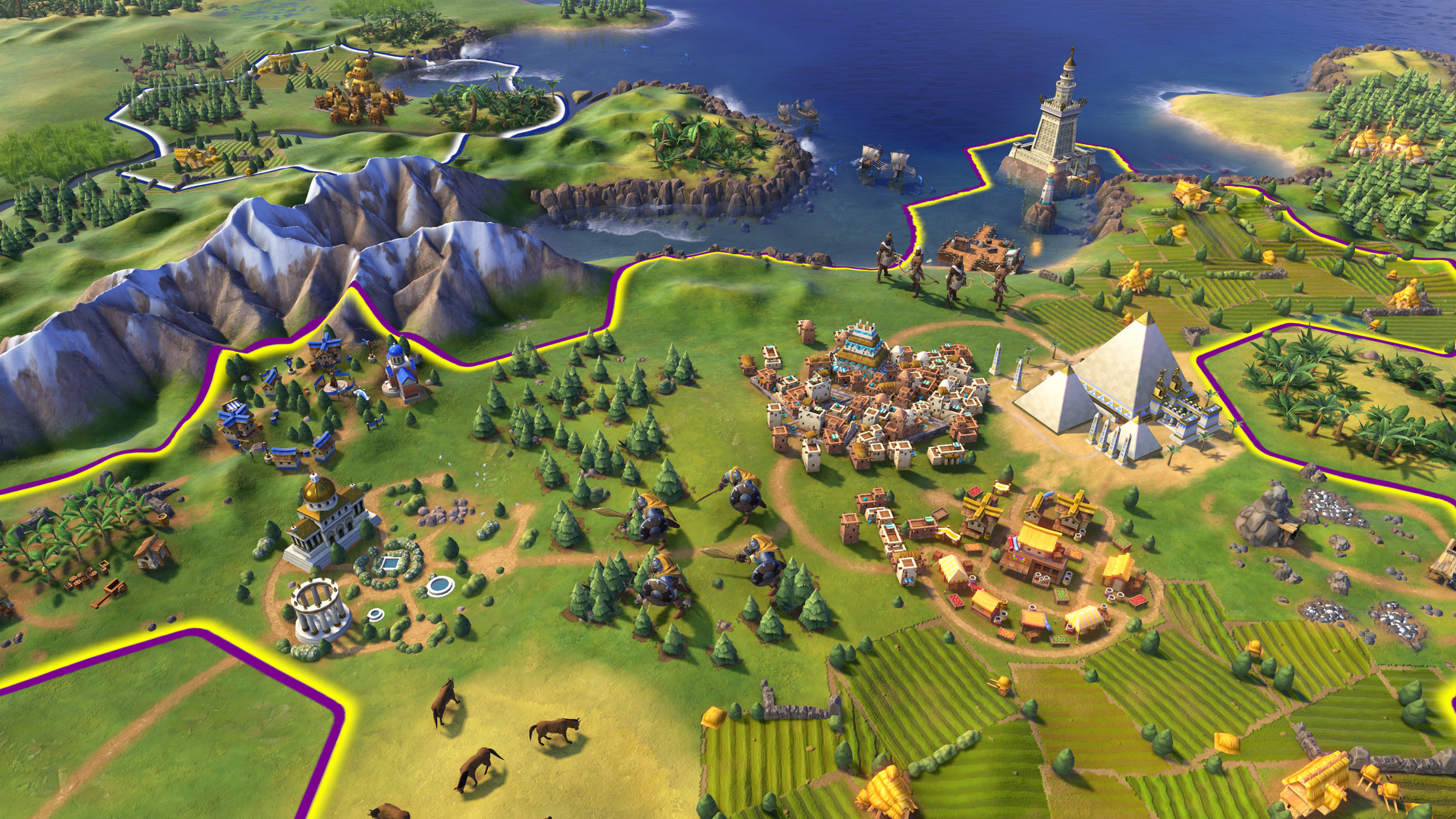 Sid Meier's Civilization VI 6 Digital Deluxe PC (Global) clé pas cher à télécharger