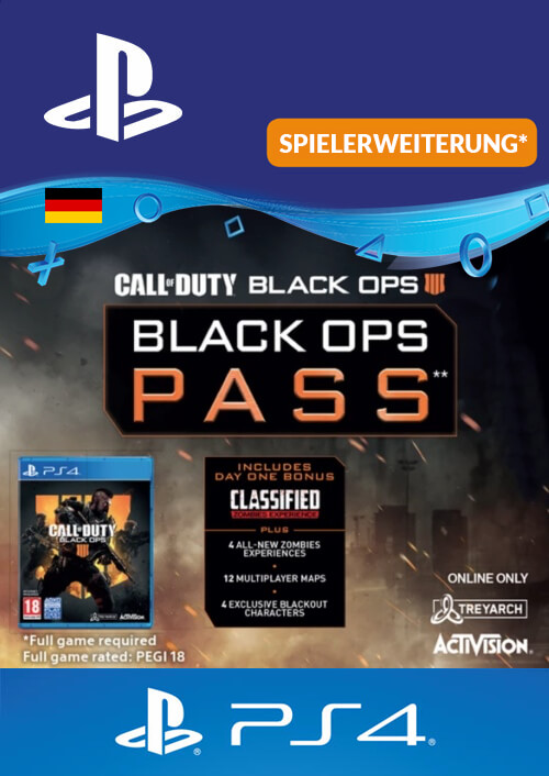 Call of Duty Black Ops 4 Pass PS4
