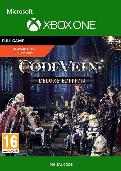 Code Vein: Deluxe Edtion Xbox One key