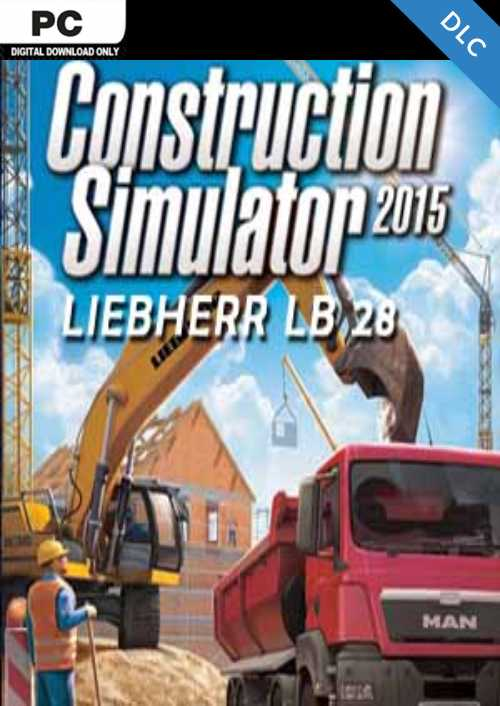Construction Simulator 2015 Liebherr LB 28 PC key