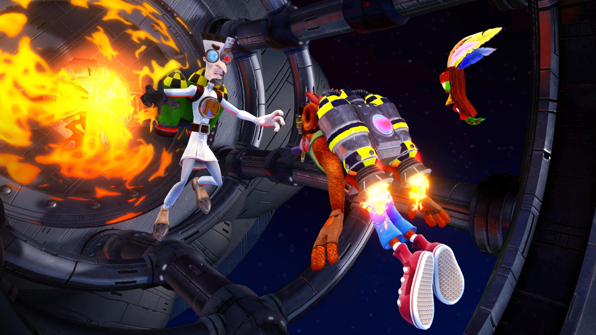 Crash Bandicoot N. Sane Trilogy PS4 cheap key to download