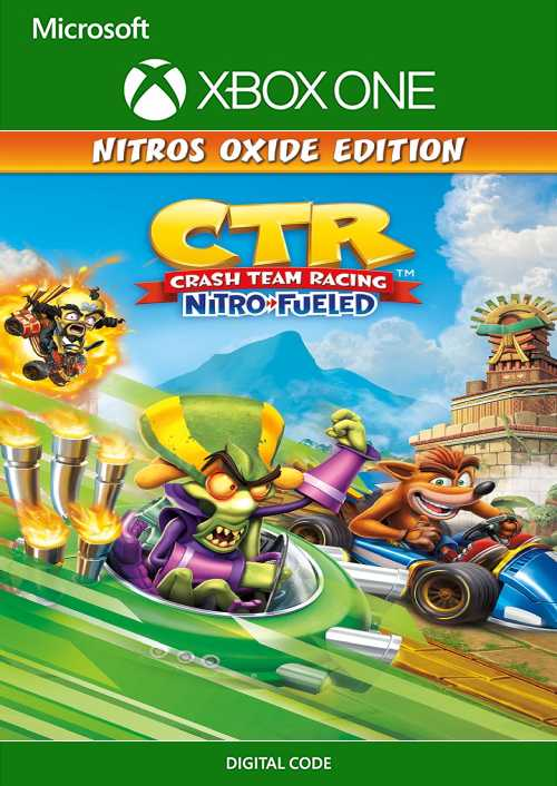 Crash Team Racing Nitro-Fueled Nitros Oxide Edition Xbox One