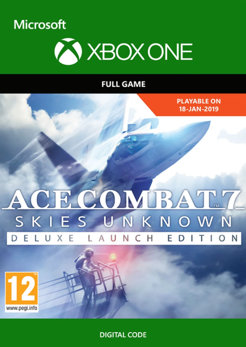Ace Combat 7 Skies Unknown Deluxe Launch Edition Xbox One