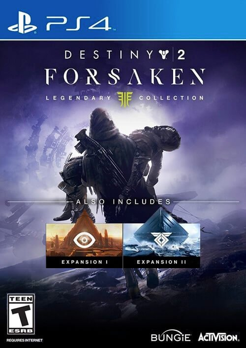 Destiny 2 Forsaken DLC Legendary Edition PS4