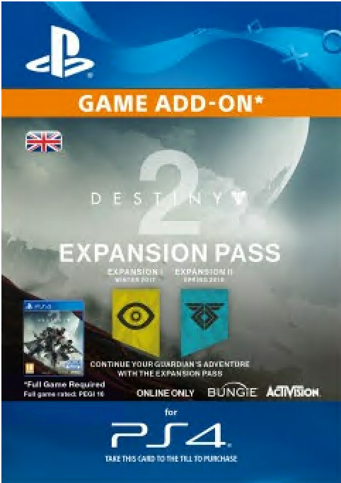 Destiny 2 Season Pass PS4
