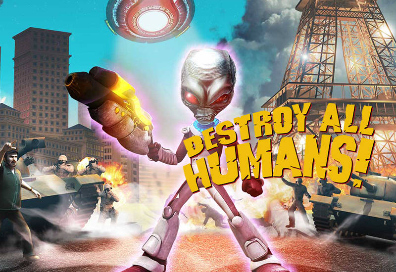 Destroy All Humans! PC cheap key to download