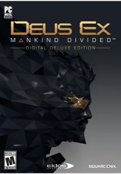 Deus Ex Mankind Divided Digital Deluxe Edition PC billig Schlüssel zum Download