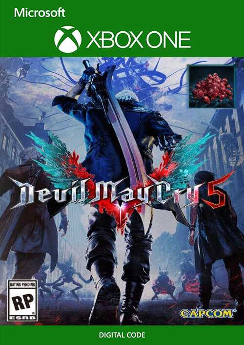 DmC 5 Devil May Cry V with Red Orbs Xbox One